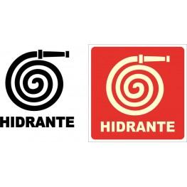 SINALIZAÇÃO HIDRANTE 19x19
