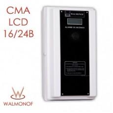 Central Convencional LCD - 16 Endereços 24 V