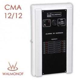 Central de Alarme de Incêndio - 12 Endereços 12 V