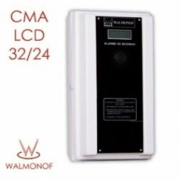 Central Convencional LCD - 32 Endereços 24 V